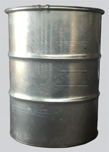 "Metallic drum with lid - 370 litres volume ""MAGNUM"""