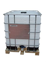 Polythene antistatic IBC 1000 litres ADR - wooden pallet