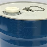 Metallic  composite  drum  with  screw  cap and HDPE  inner receptacle  - 30 litres volume