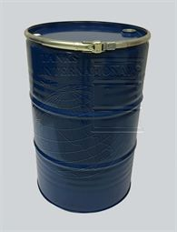 Metallic drum isocontainer - 210 litres volume for liquid products lacquered